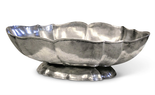 Large Oval Centerpiece Bowl with Base