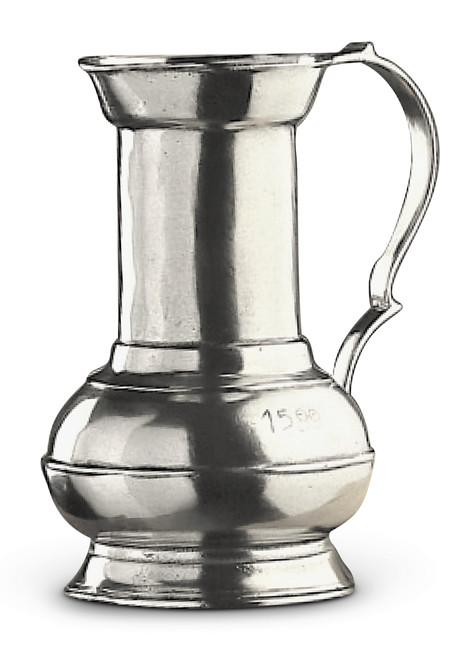 "9"" Water/Beverage Pewter Pitcher"