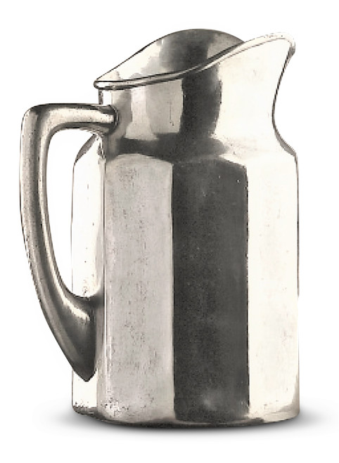 "Water/Beverage 11"" Pewter Pitcher"