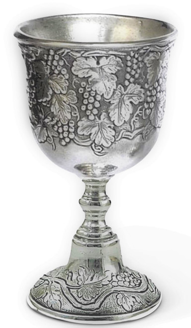 "Cavagnini Vineyard 5"" Pewter Chalice"