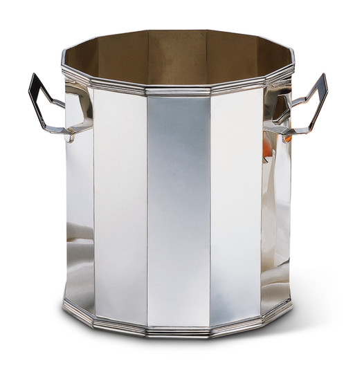 Bicama Octagonal Sterling Silver Champagne Bucket