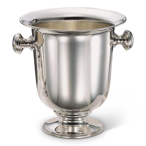 Bicama Plain Silver Plated Champagne Bucket