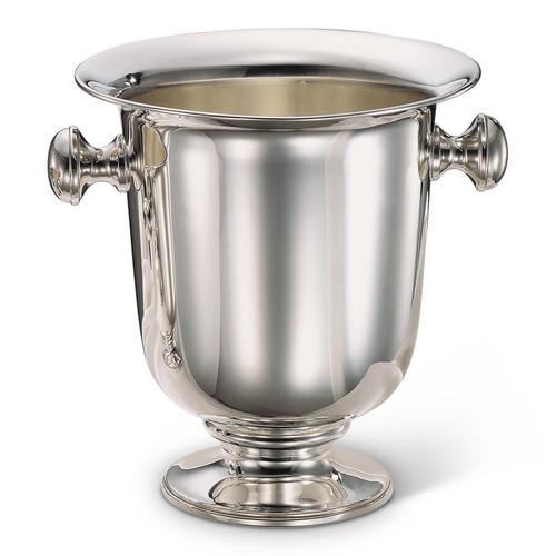 Bicama Plain Silver Plated Champagne Bucket