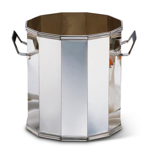 Bicama Octagonal Silver Plated Champagne Bucket