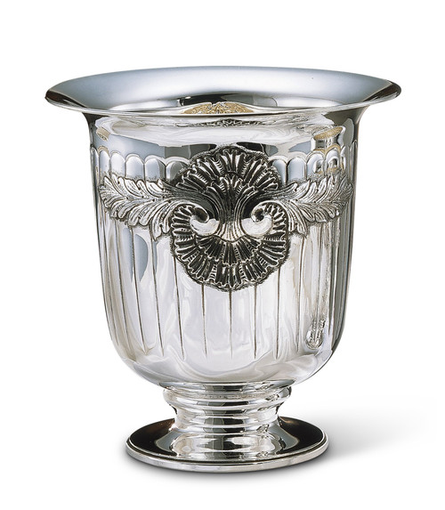 Bicama Shell Silver Plated Champagne Bucket