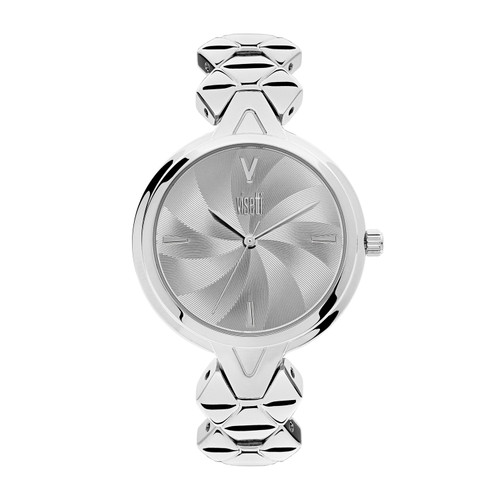 Visetti Flare Series - Silver Women's Watch