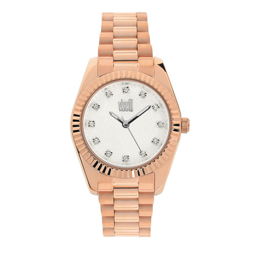 Visetti City Link Series - Rose Gold Women's Watch