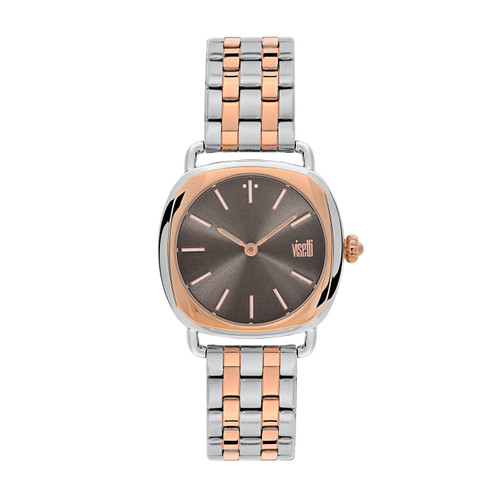 Visetti Sensual Series - Silver & Rose Gold Women's Watches