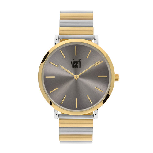 Visetti Minimalist Series - Gold and Silver  Women's Watch