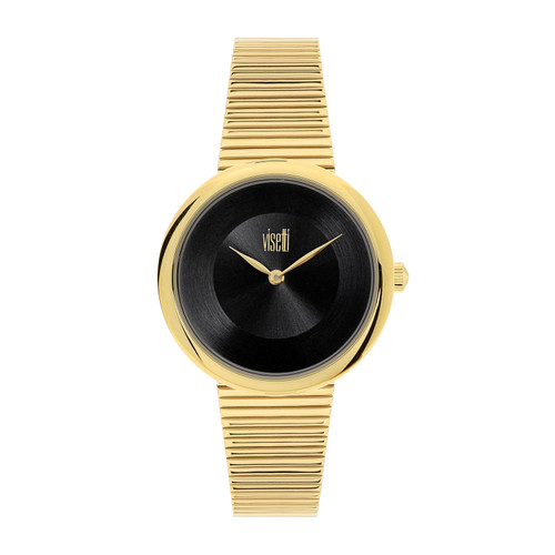 Visetti Pure Chic Series - Gold and Black Women's Watch
