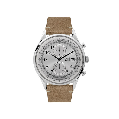 Visetti Apollo Series - Silver Men's Watch