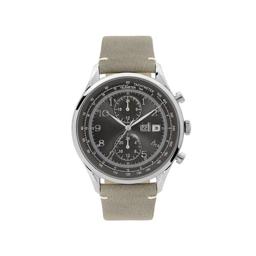 Visetti Apollo Series - Silver and Gray Men's Watch