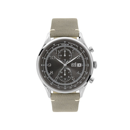 Visetti Apollo Series - Silver and Gray Men's Watch