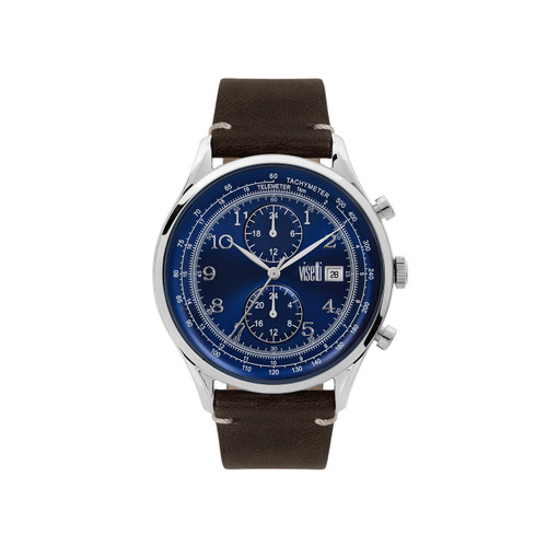 Visetti Apollo Series - Silver and Blue Men's Watch