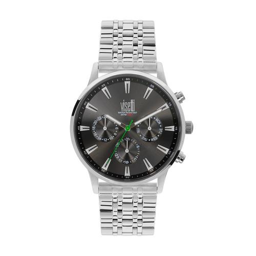 Visetti Maverick Series - Silver and Gray Men's Watch