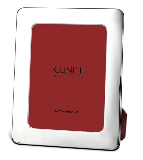 Cunill 'Round Corner' Sterling Silver 8x10 Picture Frame Portrait View