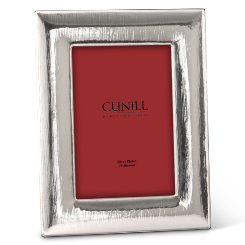 Cunill Rain 4x6 Silver Plated Picture Frame