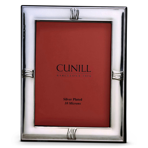 Cunill Accent 8x10 Silver Plated Picture Frame