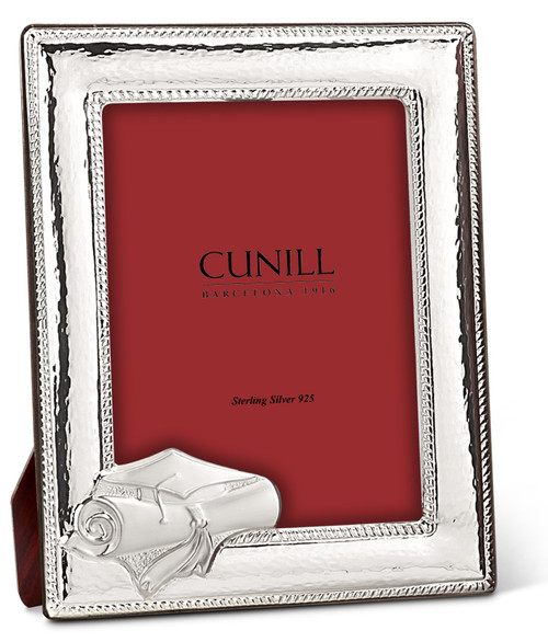 Cunill Graduation 8x10 Sterling Silver Picture Frame