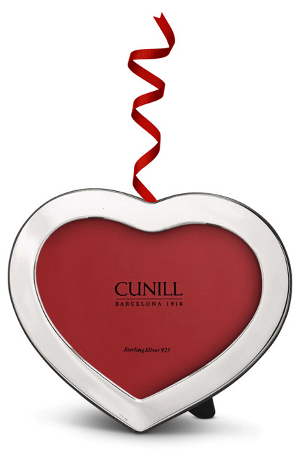 Cunill Sterling Silver Heart 2.25x3.25 Ornament Frame