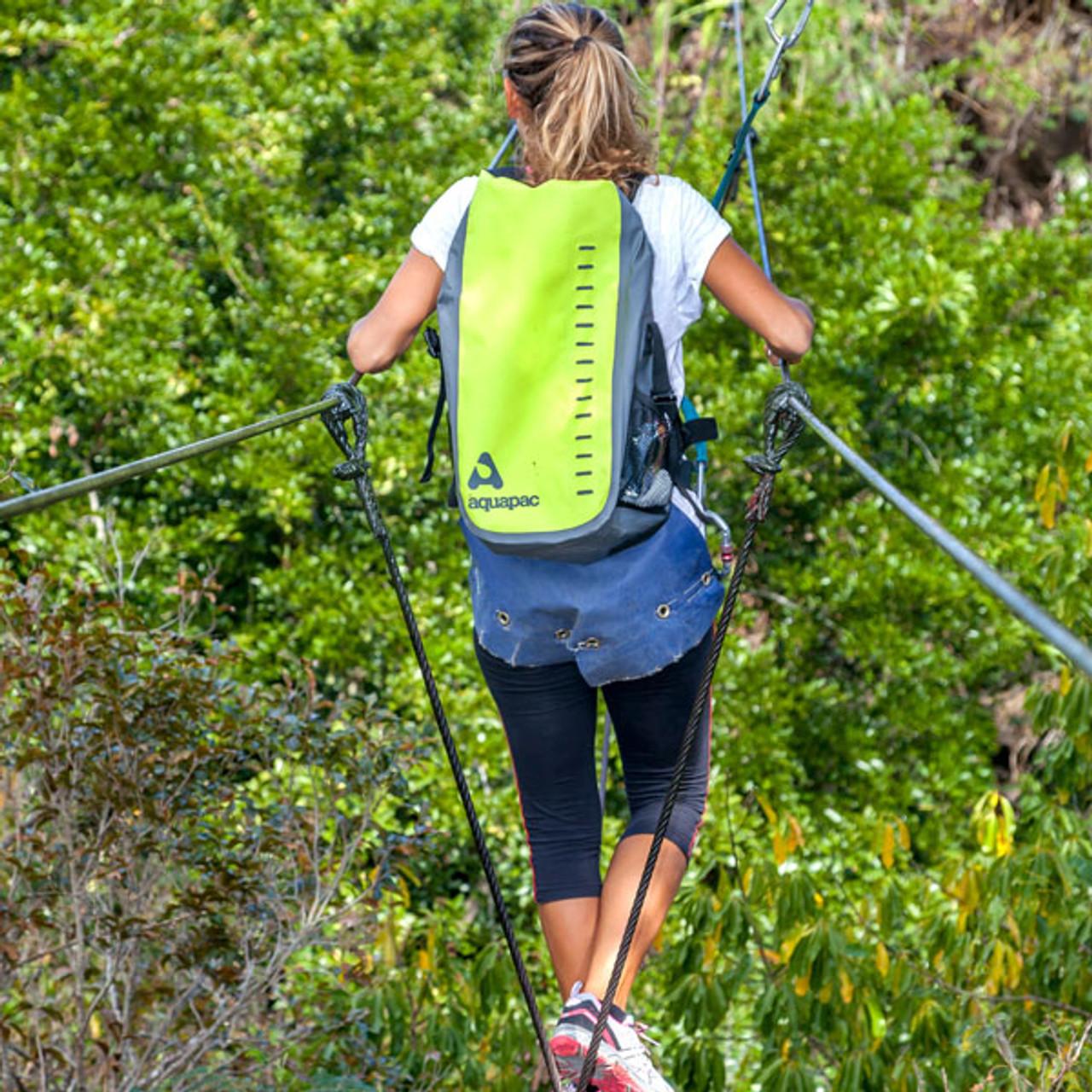 Aquapac Toccoa 28L Waterproof Daypack - Acid Green