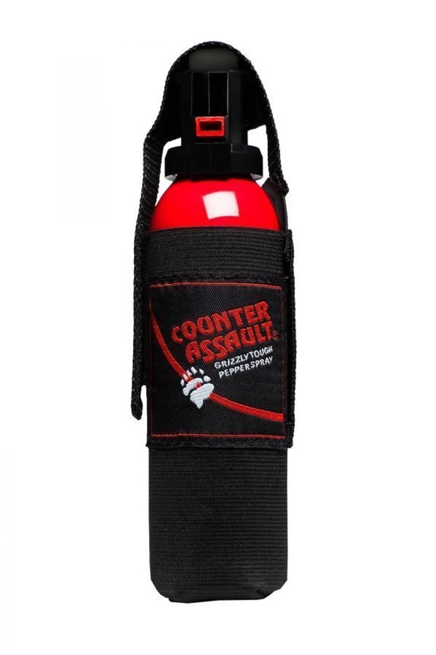 Counter Assault 10.2oz (290g) Bear Spray With Belt Holster