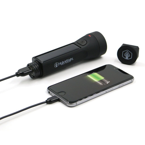 HybridLight Journey 300 Flashlight / Charger - Black
