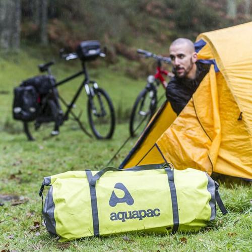 Aquapac 40L Heavyweight Waterproof Duffel Bag - Acid Green