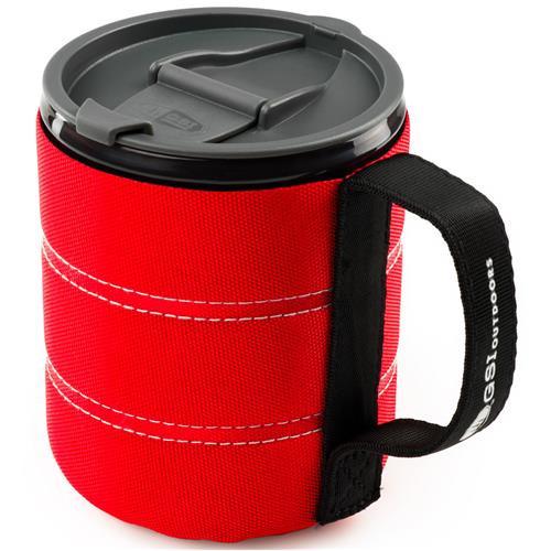 GSI Infinity backpackers mug red canada