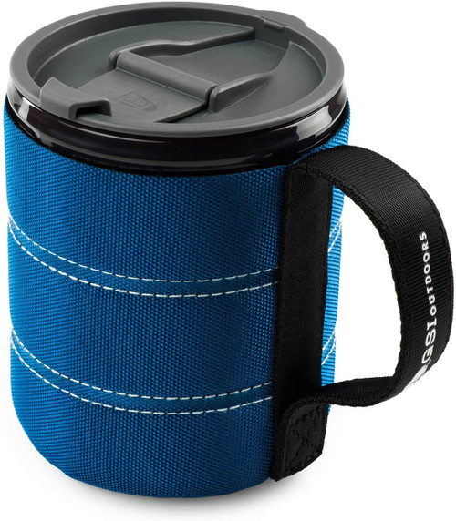 GSI Infinity backpackers mug blue canada