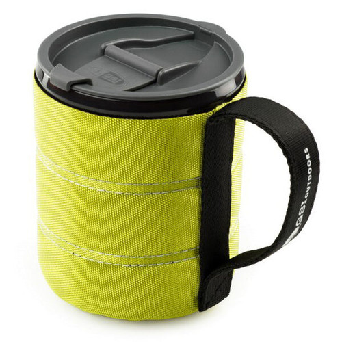 GSI Infinity backpackers mug green canada