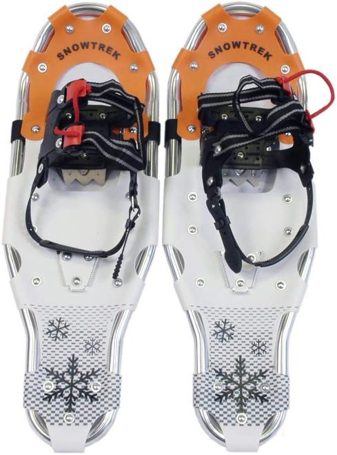 "Snowtrek Aluminum 25"" Snowshoes (90lbs-170lbs)"