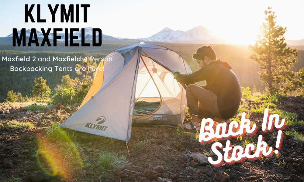 Klymit Maxfield Backpacking Tent Peak Camping
