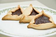 Hamantaschen - Jewish Jam Cookies