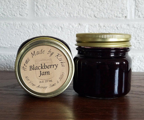 Whats the secret to our not too sweet, slightly tart Blackberry Jam? Don't mess with a summer traditional, of course! Blackberries are the perfect summer berry, and this is the perfect summer berry jam.