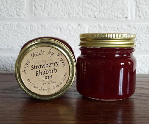 There aren't many things more traditional than Strawberry Rhubarb Jam. This spring and summer blend has been gracing New England homes for generations