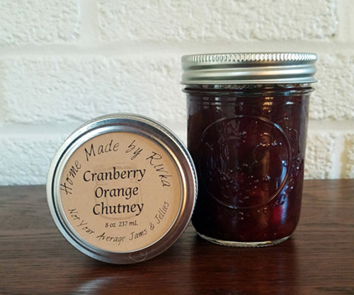 A tart and savory alternative to cranberry sauce, our Cranberry Orange Chutney will become a new tradition at your Thanksgiving or Christmas table.