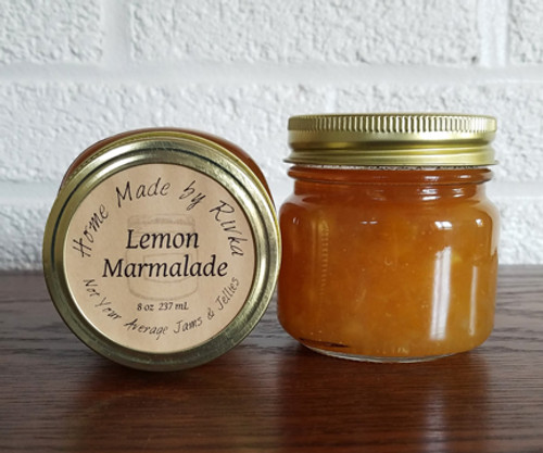 Our Lemon Marmalade is such a tangy, savory change from a traditional marmalade you wont even miss the orange. Use Lemon Marmalade as a glaze on fish or seafood for a fun twist.