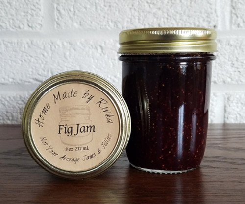 Fig Jam is a soft-set, savory jam that is not only perfect on toast, but on specialty flatbread or pizza.
