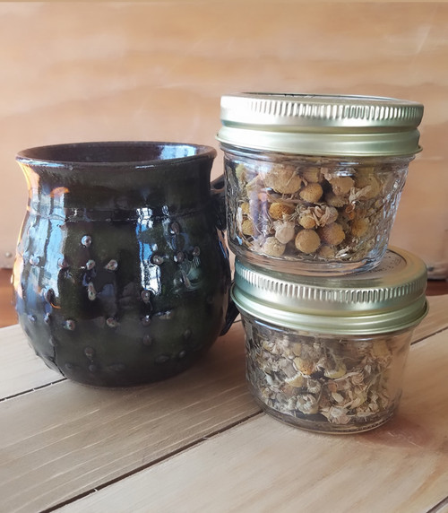 Chamomile Tea Jars