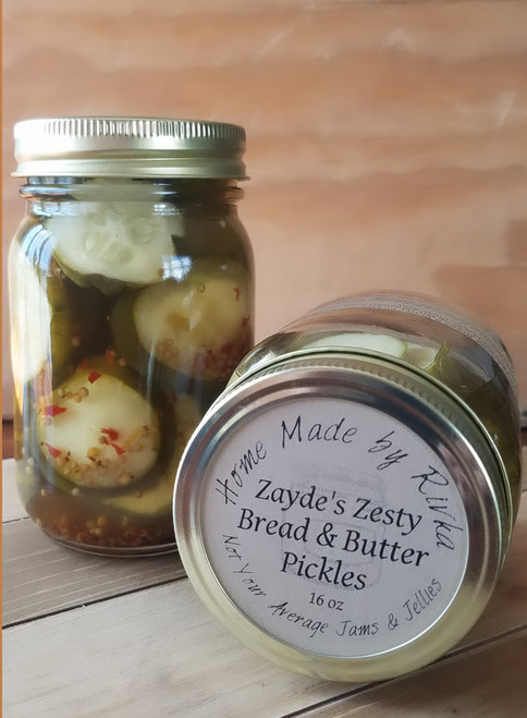 Zayde's Zesty Bread and Butter Pickles