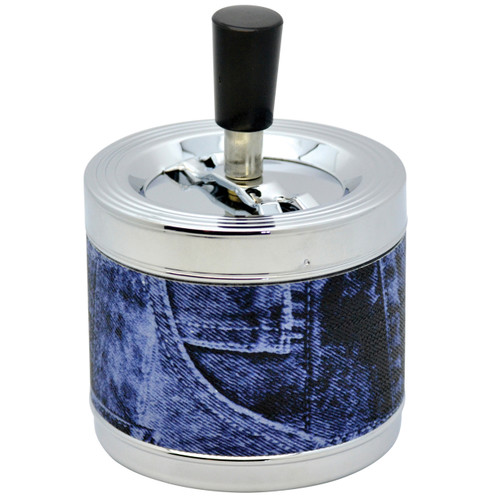 952J Jeans Spinning Ashtray