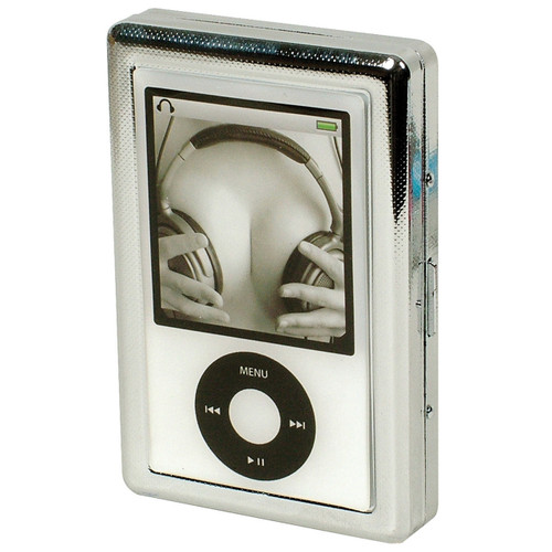 Cigarette Case White mp3 Headphones
