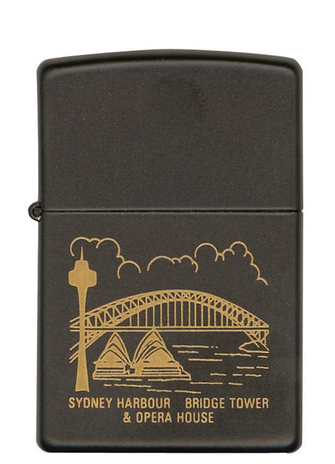 Sydney Harbour [Etched Black Matte]