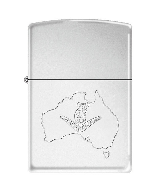 Koala & Map [Etched]