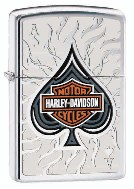 Harley-Davidson® Ace Shield [High Polish Chrome]