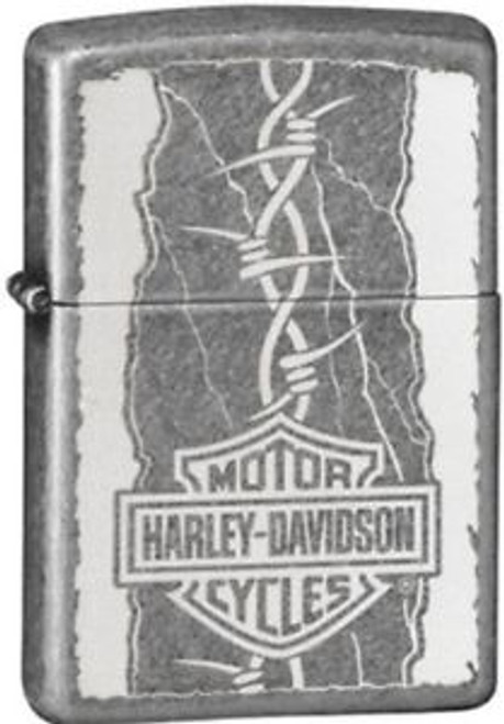 Harley-Davidson® Logo with Barbed Wire
