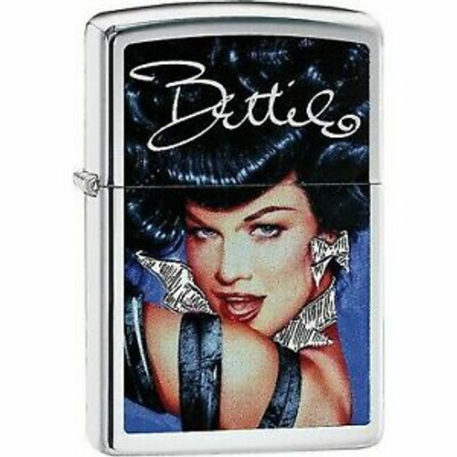 Bettie Page Glamour [Brushed Chrome]