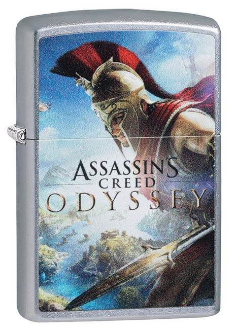 Assassin's Creed Odyssey Cover [Street Chrome]