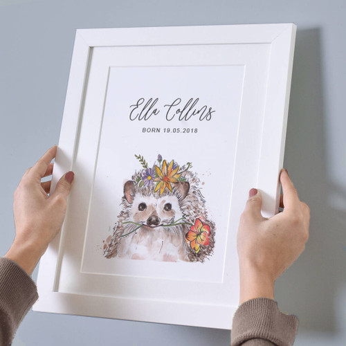 Watercolour Baby Animal Print